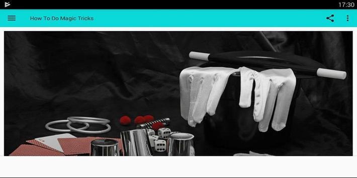 How To Do Magic Tricks screenshot 2