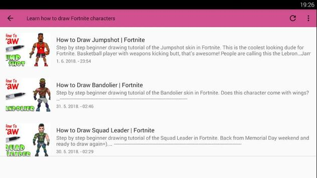 How To Draw Fortnite Characters For Android Apk Download