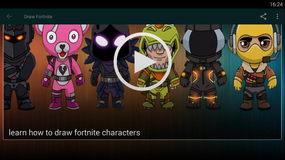 How To Draw Chibi Fortnite Characters For Android Apk Download