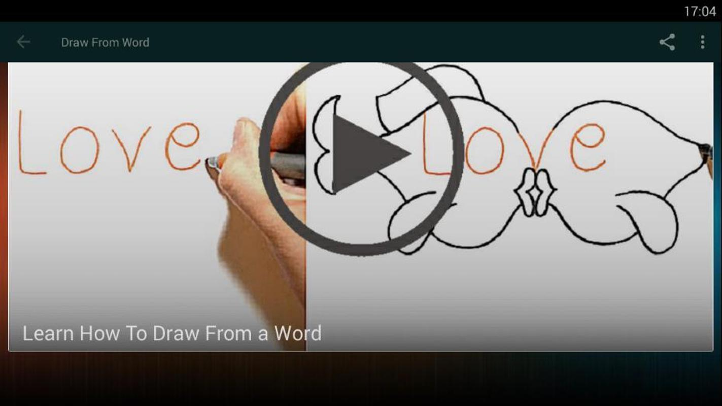 How To Draw From A Word For Android Apk Download