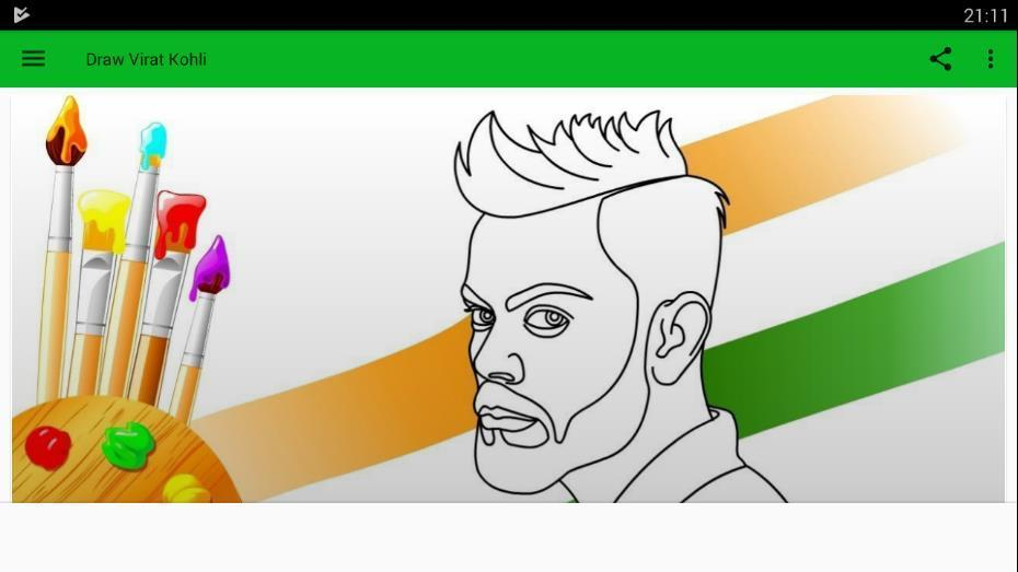 How To Draw Virat Kohli For Android Apk Download