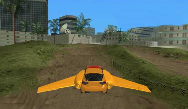 Stunt Jumping and Flying Car screenshot 3
