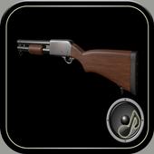 Shotgun sounds icon