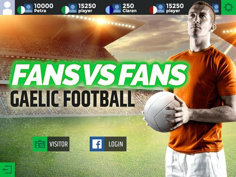 Gaelic Football Fans Vs Fans apk screenshot