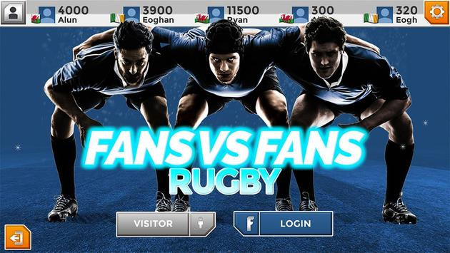 Fans Vs Fans Rugby poster
