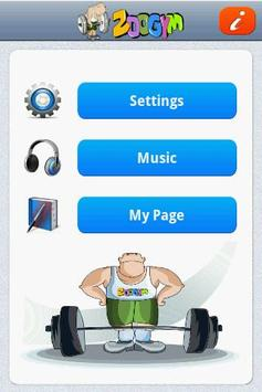 ZooGym apk screenshot