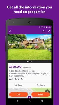 Zoopla Property Search UK - Home to buy & rent apk स्क्रीनशॉट