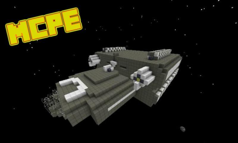 space mod minecraft pe