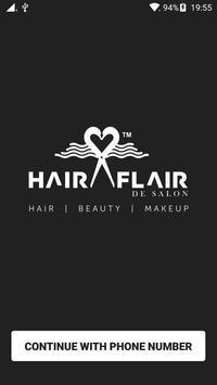 Hair Flair De Salon poster