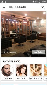Hair Flair De Salon apk screenshot
