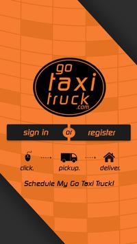 Go Taxi Truck poster