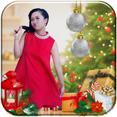 Christmas Photo Editer 2018 icon