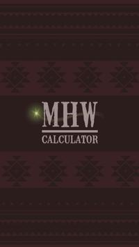 MHW Calculator poster