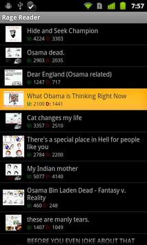 Rage Comics Reader apk screenshot