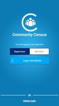 Community Census poster