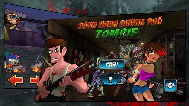 Danh Nhau Duong Pho Zombie poster