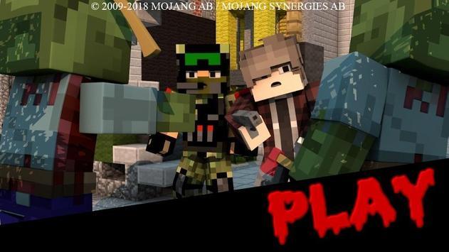 Zombie Apocalypse Minecraft MCPE Maps screenshot 2