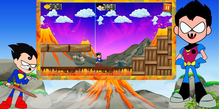 robin run with zombie in hell apk screenshot