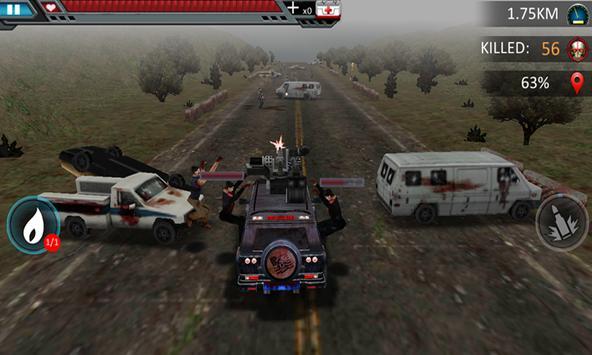 Zombie Road Death Racer apk screenshot
