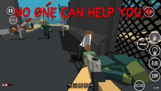 Zombie Craft Game screenshot 1
