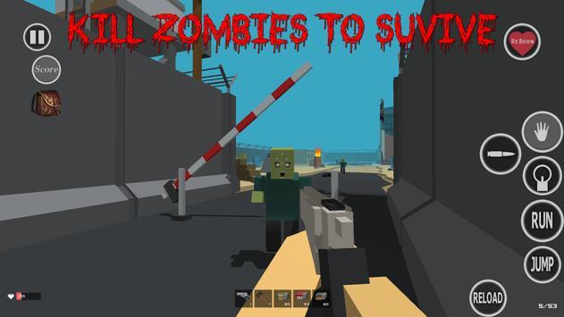Zombie Craft Game screenshot 2