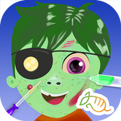 Zombie Eye Doctor Kids Game icon