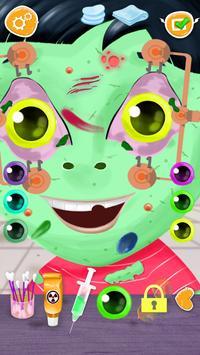 Zombie Eye Doctor Kids Game screenshot 4