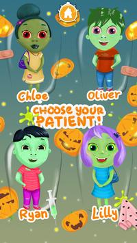 Zombie Eye Doctor Kids Game poster
