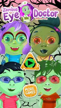 Zombie Eye Doctor Kids Game screenshot 3