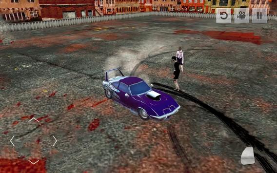 Zombie Smash : Demolition Car Derby Simulator 2018 screenshot 1