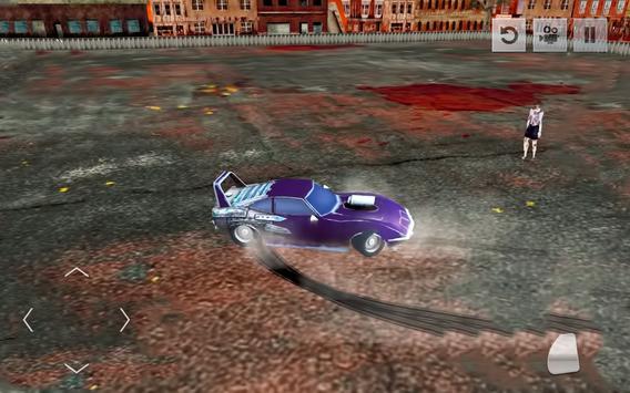 Zombie Smash : Demolition Car Derby Simulator 2018 screenshot 4