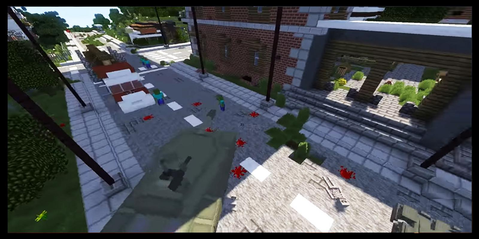 Zombie Apocalypse Minecraft maps mcpe for Android - APK Download