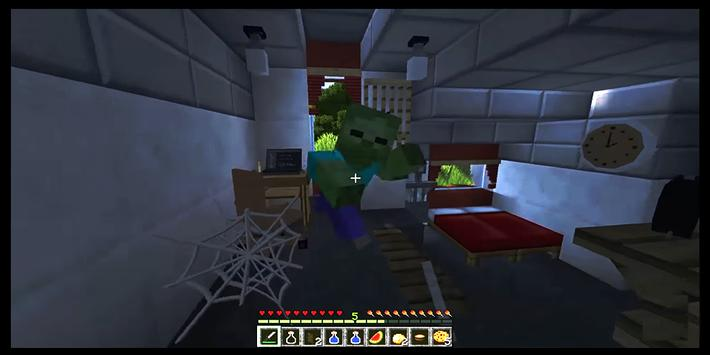 Zombie Apocalypse Minecraft maps mcpe screenshot 16