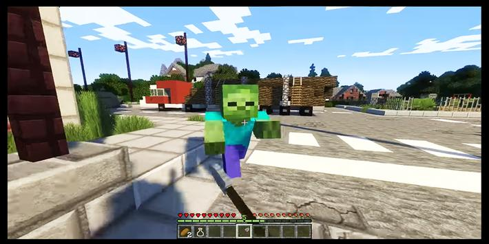 Zombie Apocalypse Minecraft maps mcpe screenshot 9