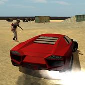 Zombie Smash Car icon