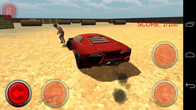 Zombie Smash Car screenshot 4