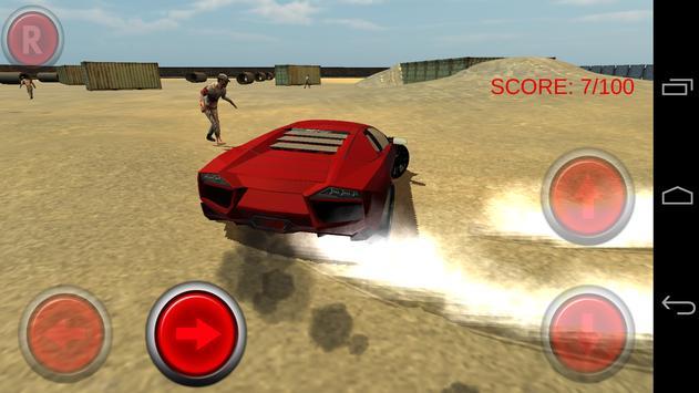 Zombie Smash Car screenshot 5