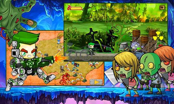 Zombie Attack HD apk screenshot