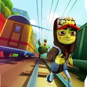 Zombie Subway Halloween Runners icon