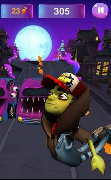 Zombie Subway Halloween Runners screenshot 4