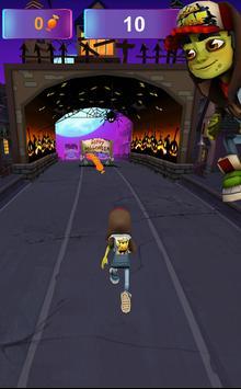 Zombie Subway Halloween Runners screenshot 6