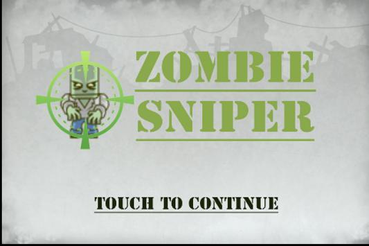 ZSniper poster