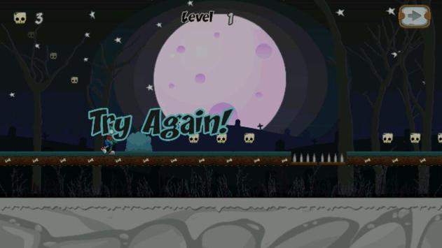 Walking Zombie Run apk screenshot