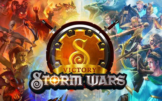 Storm Wars CCG apk screenshot