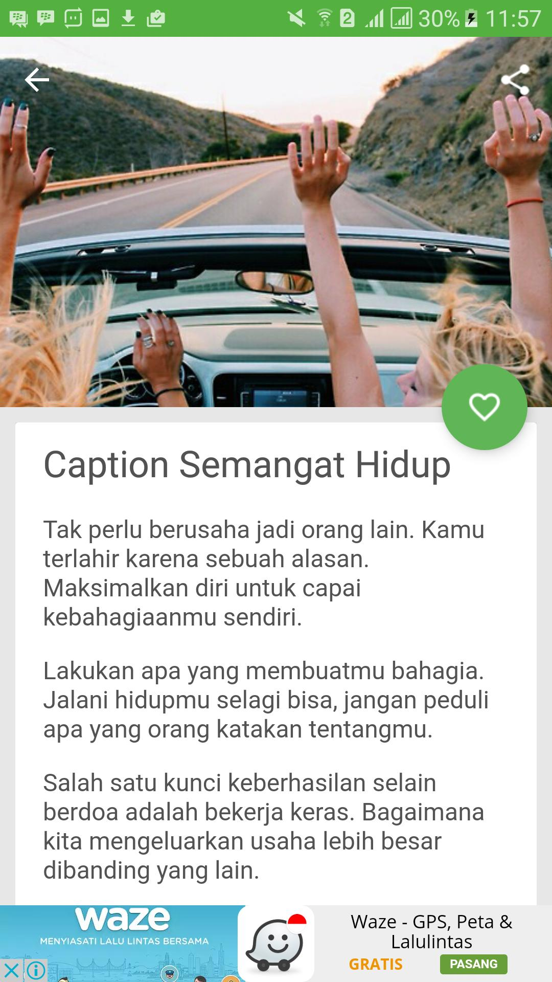 Contoh Caption IG Simple Keren For Android APK Download