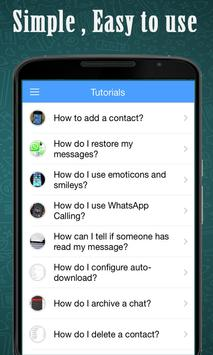 Guide for WhatsApp poster