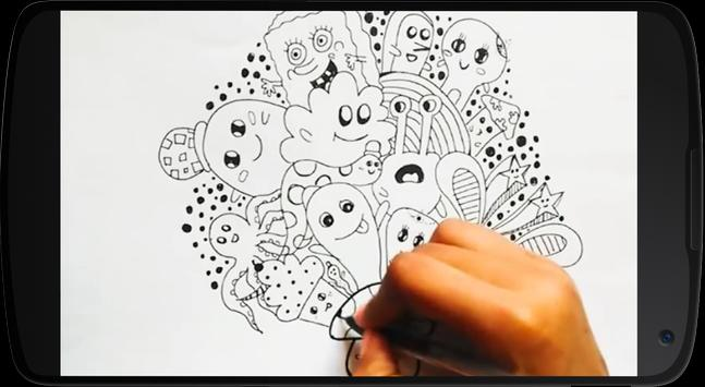 Tutorial Doodle Art apk screenshot