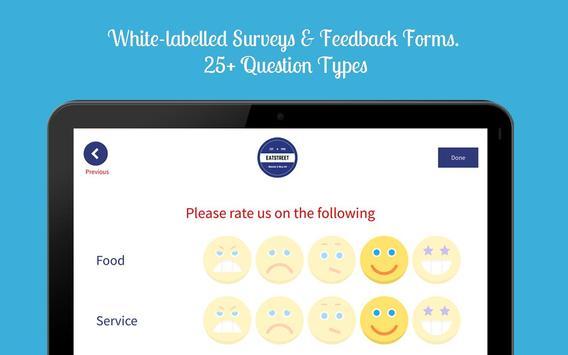 Zonka - Feedback App, Kiosk & Offline Surveys apk screenshot