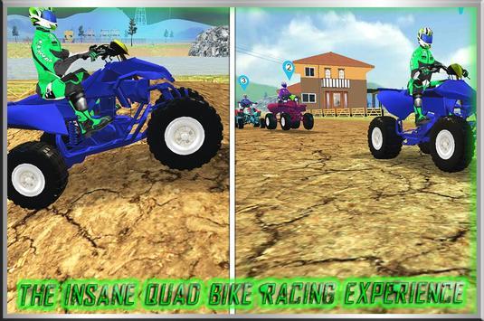 Quad Bike Racing Mania 3D apk screenshot