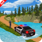 Offroad Police Car Drive 2017 icon